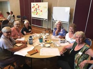 Cultural planning workshop attendees