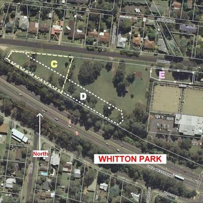Map Whitton Park Dog Off-Leash Options