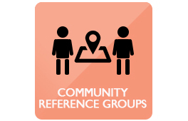 Community reference groups icon wide