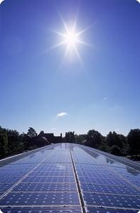Solar panels sun1