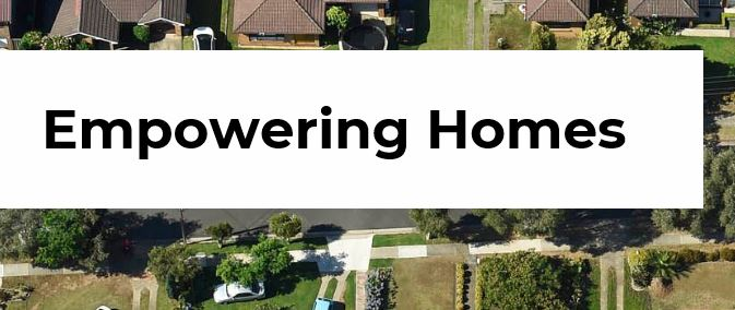 Empowering homes