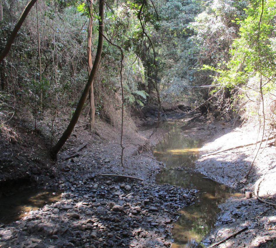 Belivah creek objective size