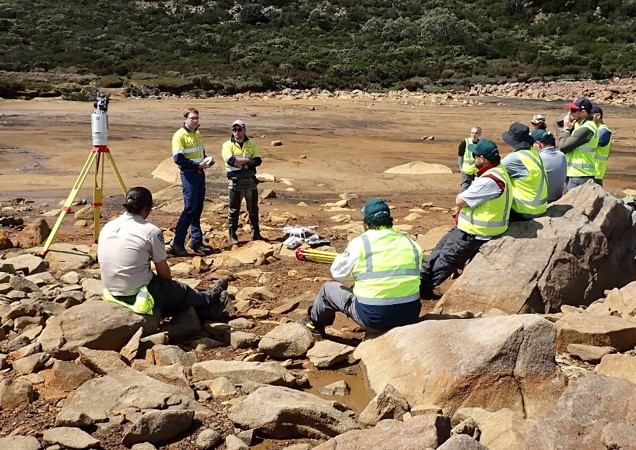 Laser scanning and aerial mapping are being used to measure erosion at one particular site. Mapping the site at regular intervals can show where the erosion is most active and how fast it is happening.