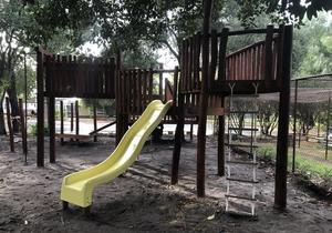 Image of a nature based playground