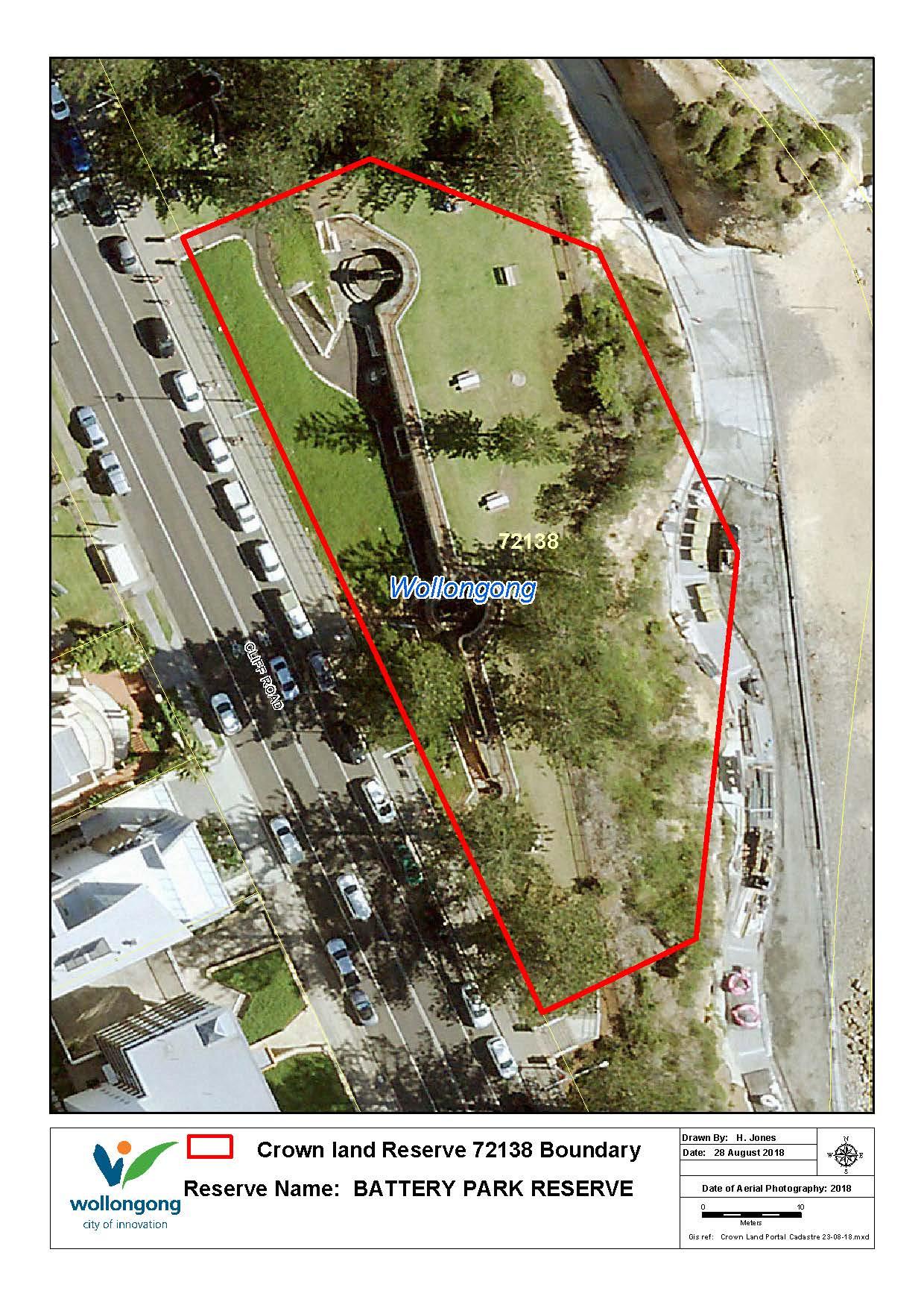 Battery park reserve 72138 map z19 78079
