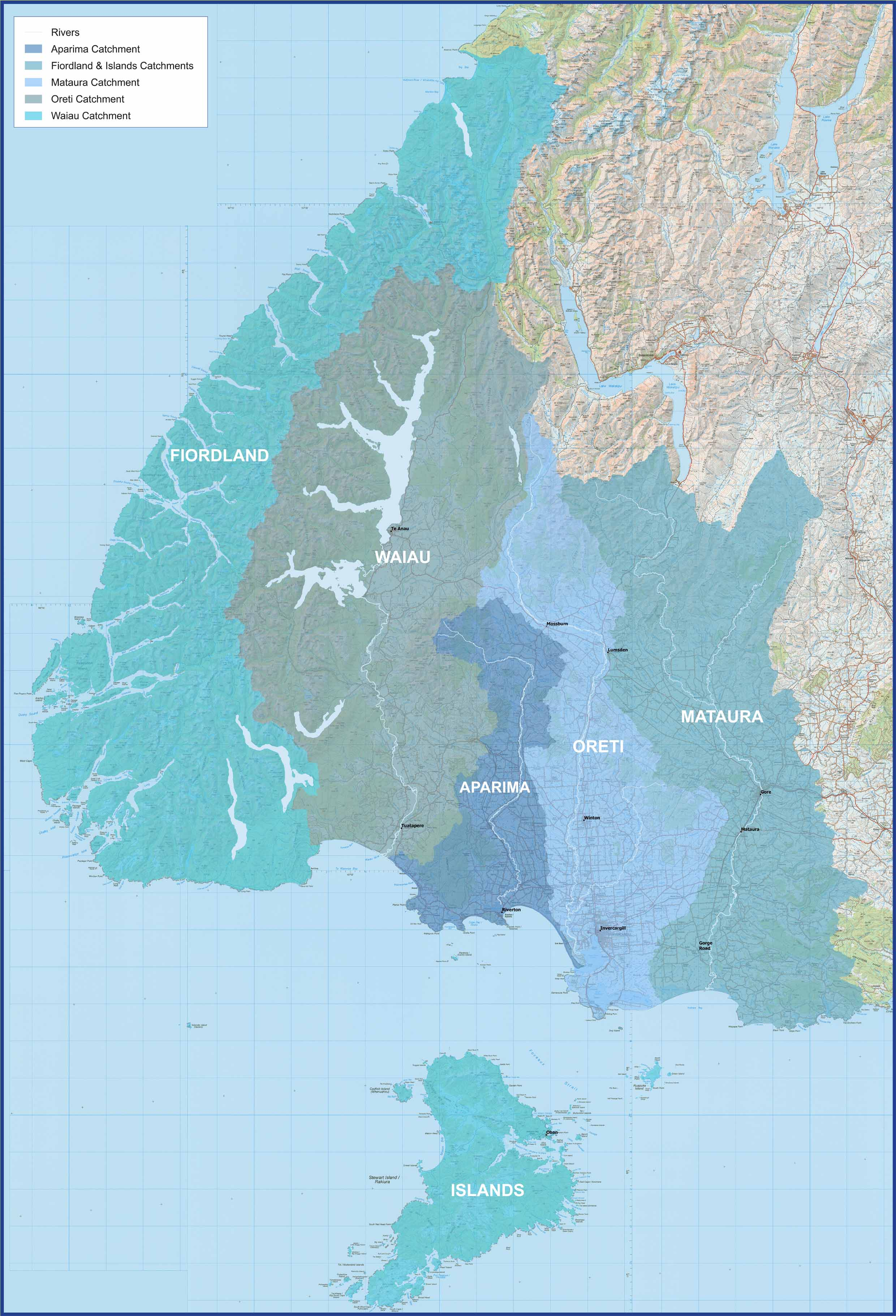 Southland catchments