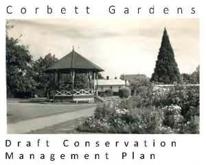 Phillips marler  corbett gardens  draft conservation management plan for    page 001a