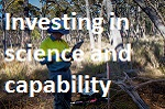 Investing in science and capability