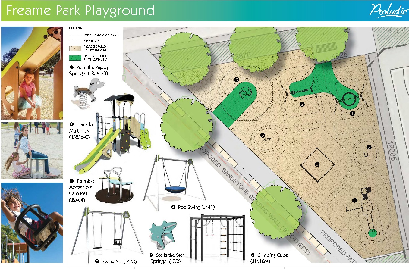 Freame park play equipment small