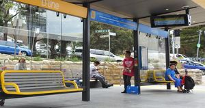 Dee why precinct b line bus stop