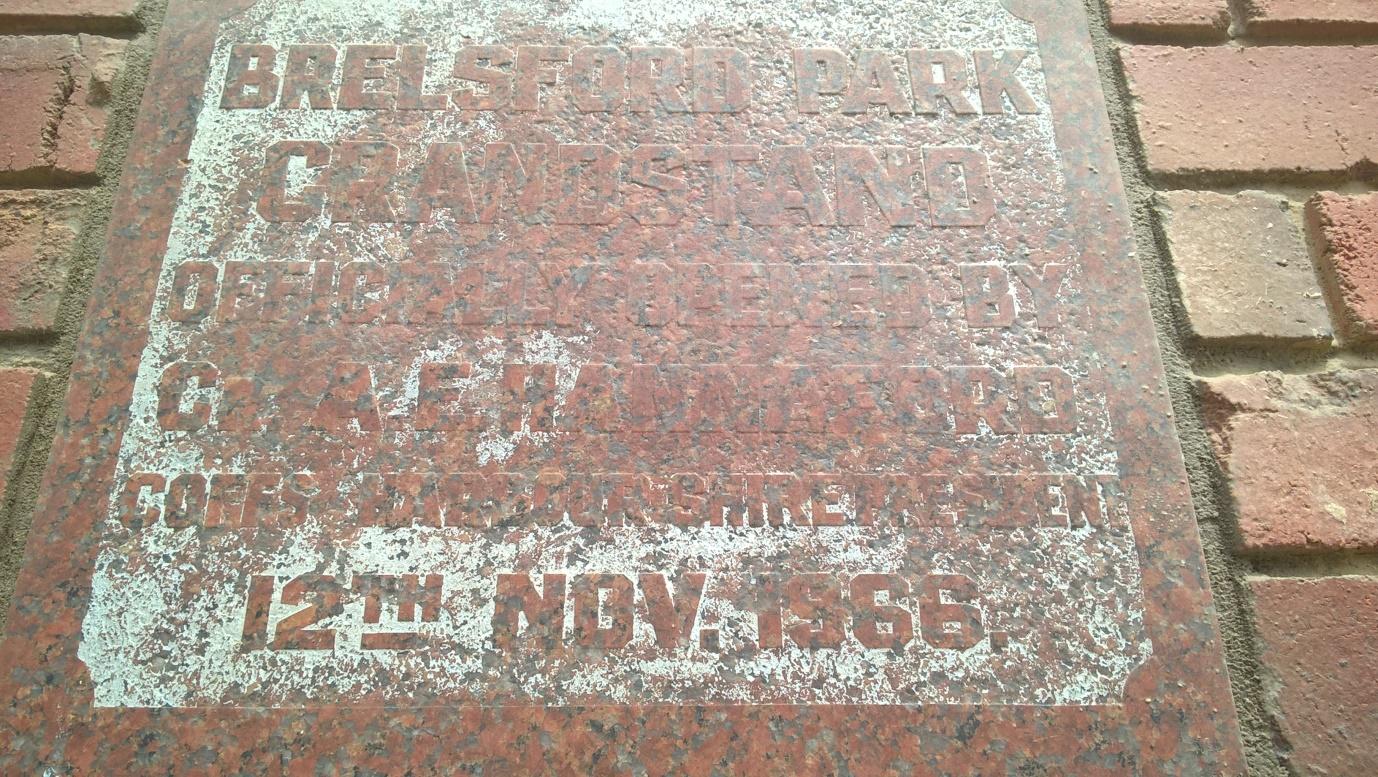Dedication plaque   290118