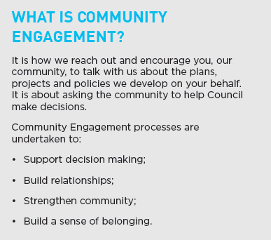 What is community engagement