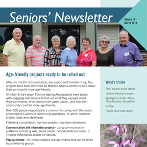 Ehq seniors newsletter tile