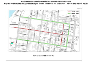 Road closures map   freedom of entry   23 nov 2018   small