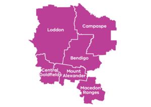 Map of the loddon campaspe region   landscape