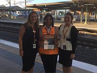 Sydney trains small tile