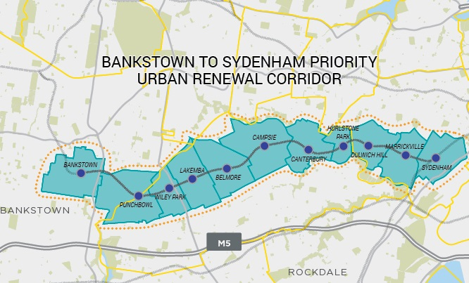 Bankstown_to_sydenham_priority_urban_renewal_corridor_map