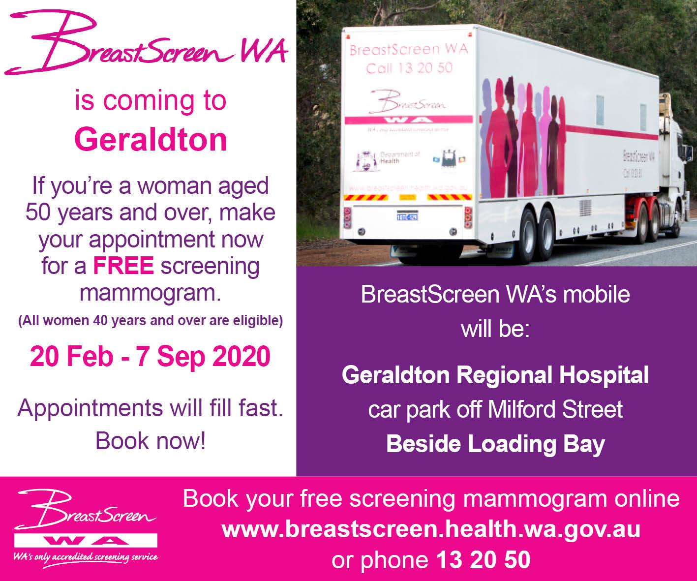 Geraldton comingtogeraldton20022020  fb post