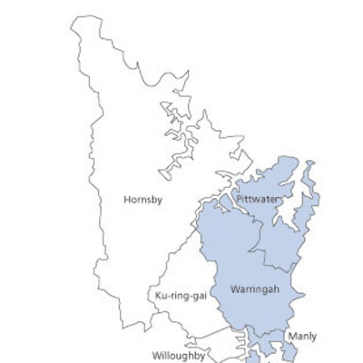 Map option A - Warringah paper