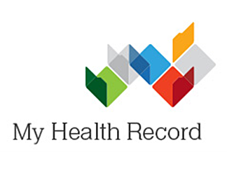My health record logo