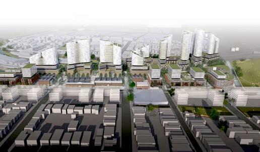 Artists impression   carrington road planning proposal