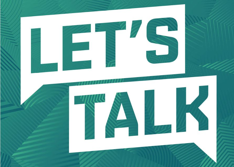 Let's Talk sessions in May