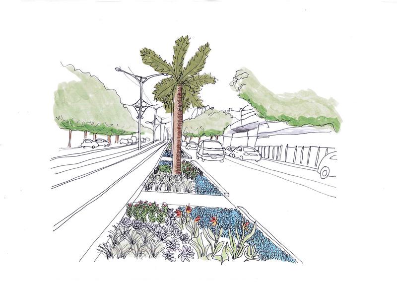 Sketch   central median greening v2