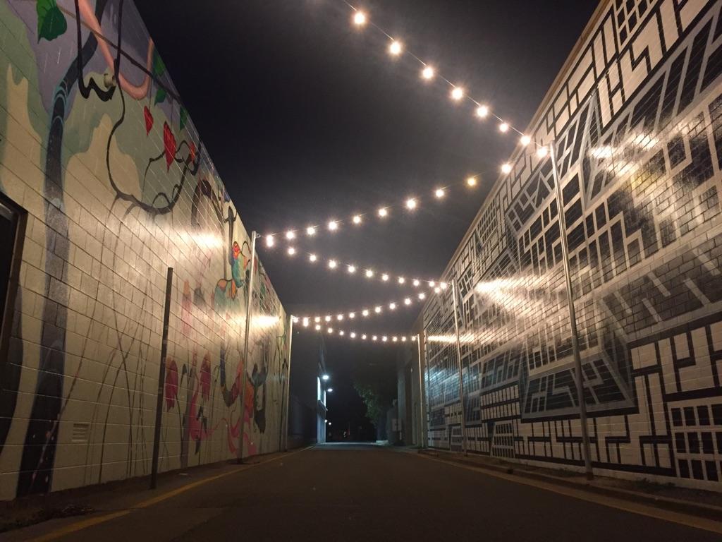 Crawford lane lights