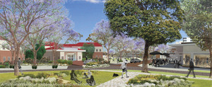 Heritage precinct artists impression