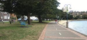 East esplanade