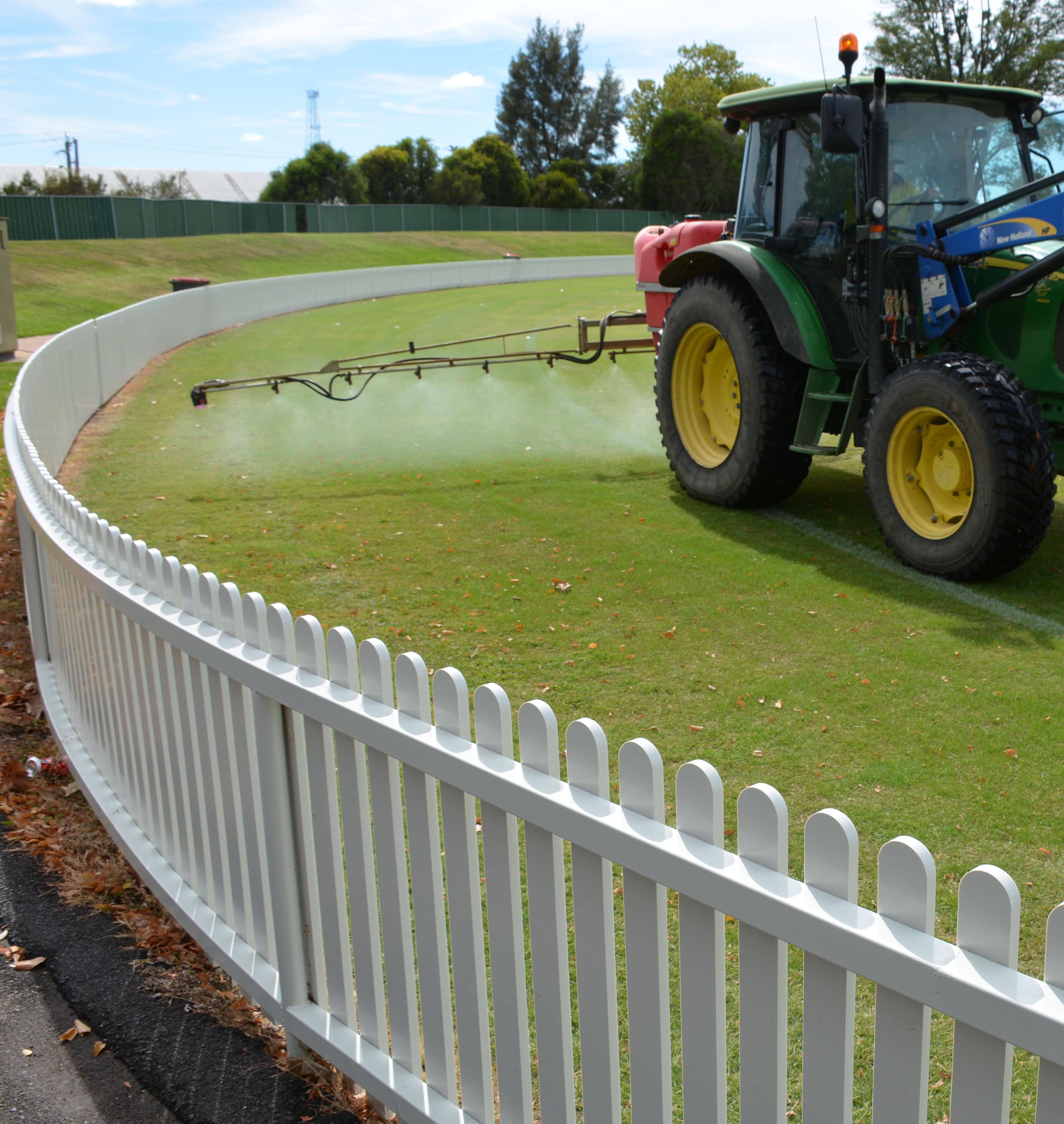 New picket fence tractor