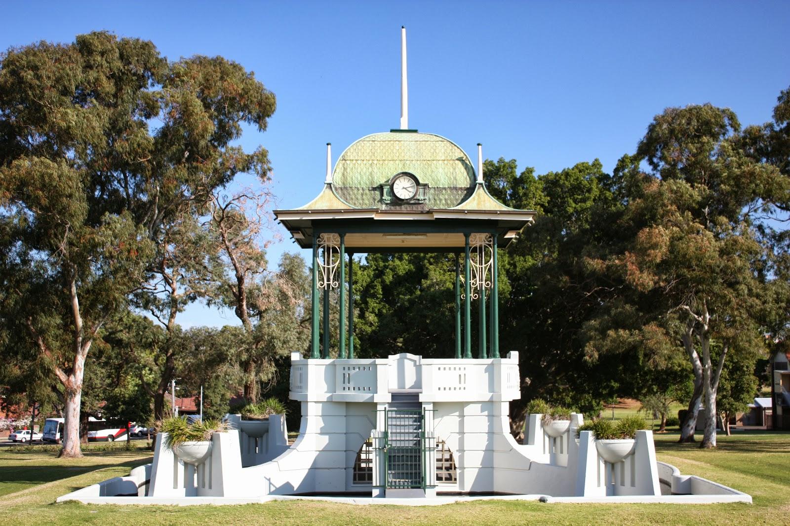 Ashfield bandstand