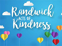 Randwick acts of kindness news tile
