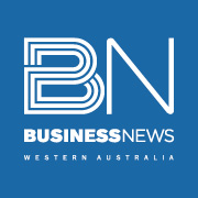 Wa business news logo blue