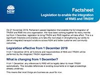 Legislation factsheet