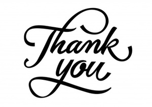 Thank you lettering with curls 1262 6964