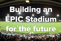 Building an epic stadium for the future project