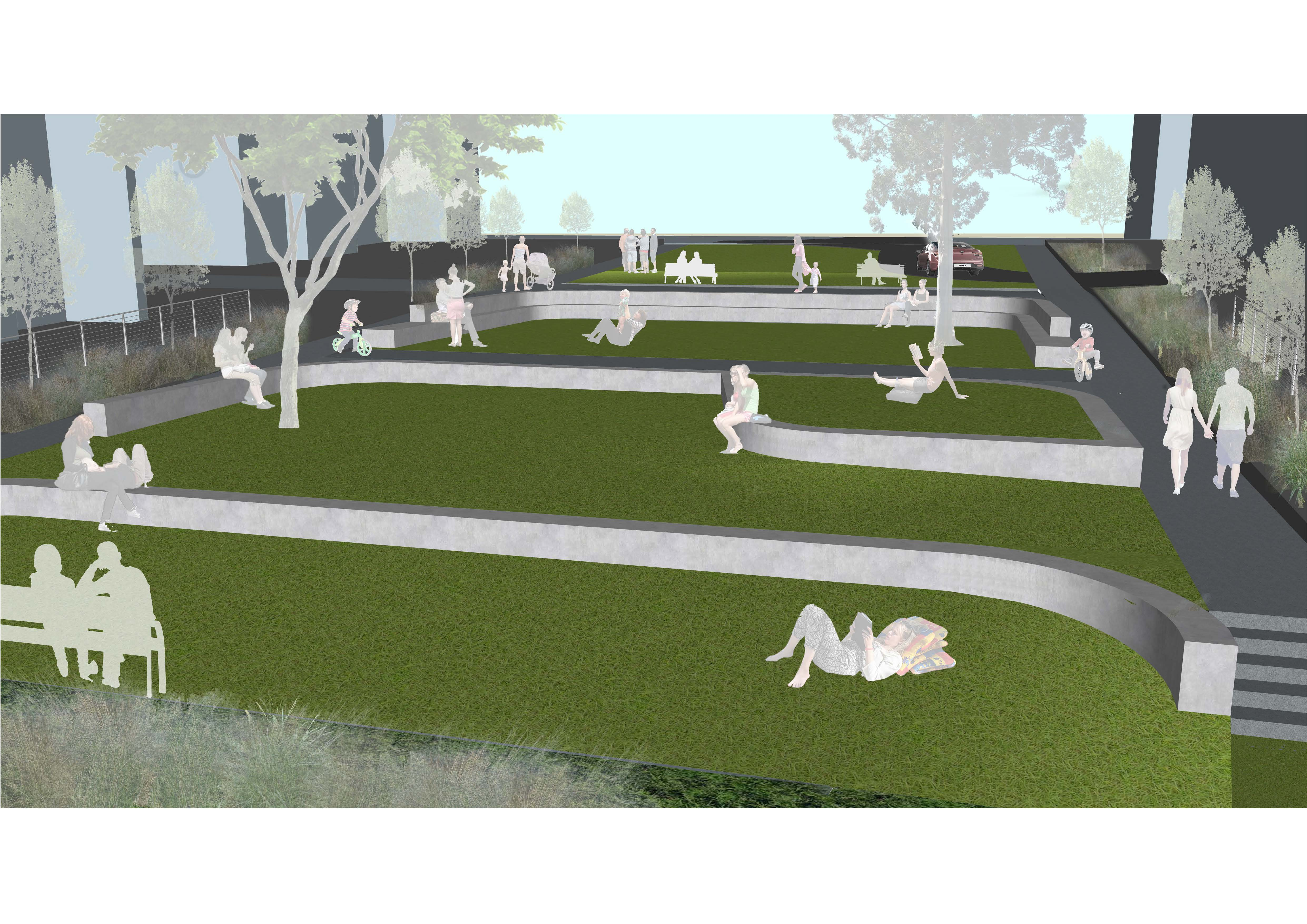 Second example of park concept design