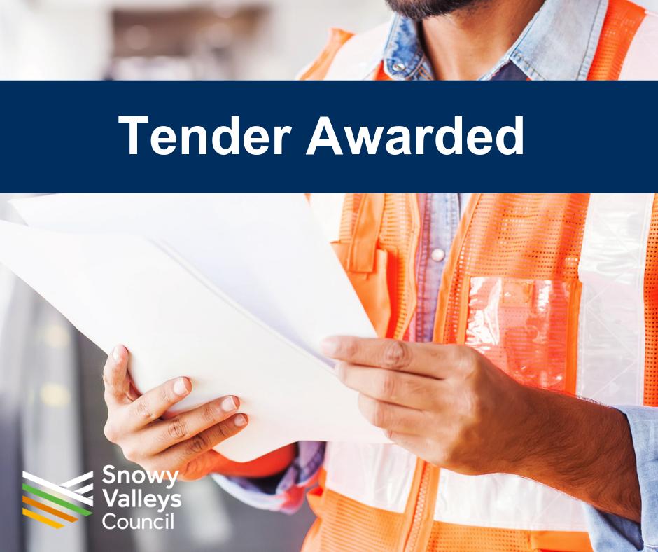 Tender awarded