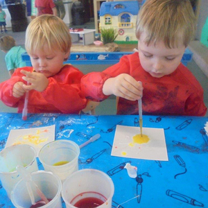 Children painting   resized