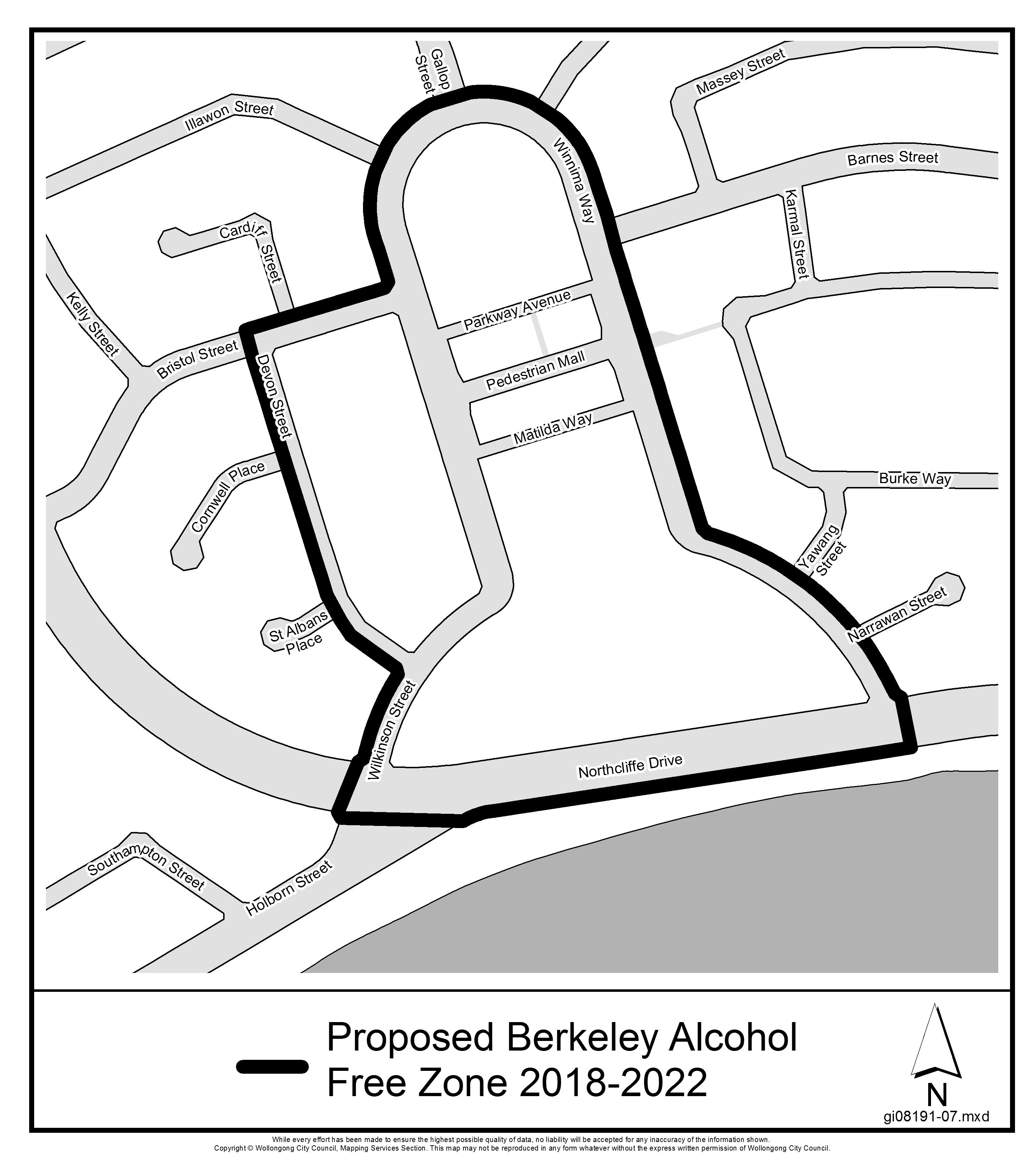Proposed berkeley alcohol free zone 2018 2022