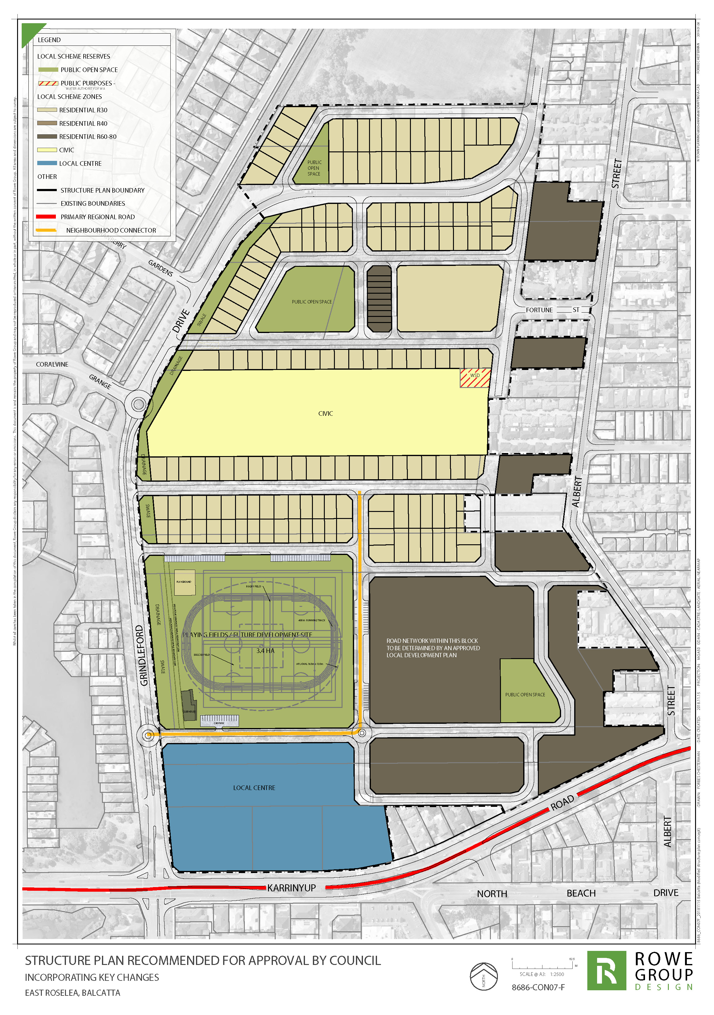 Proposed East Roselea Structure Plan | Your Say Stirling