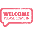Welcome pink