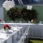 Bridal table tulle/ skirt for hire in Adleaide
