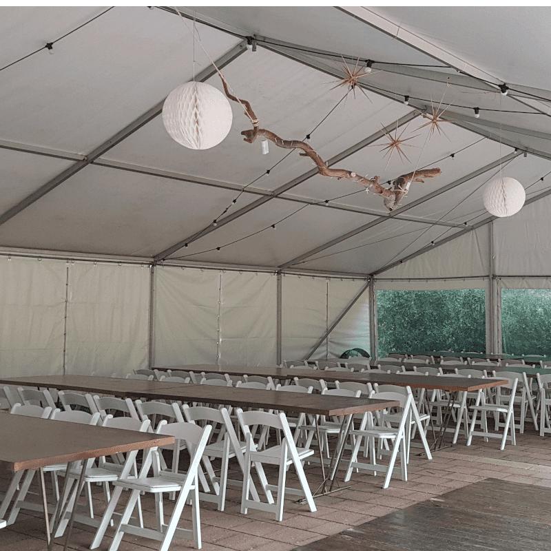 Australian Hiring Company Barvarian banquet tables