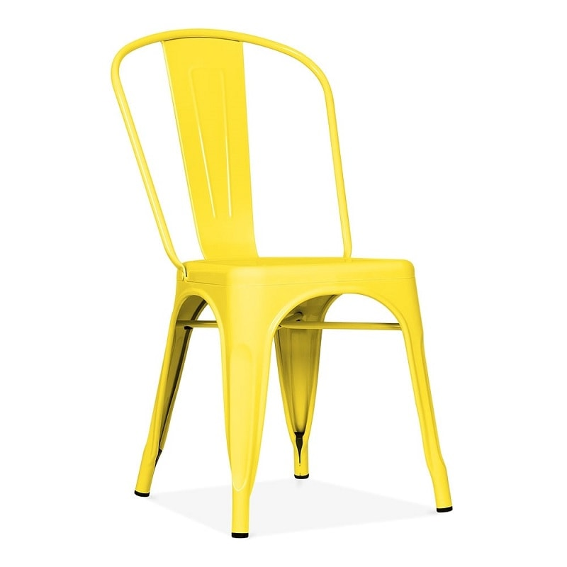 unique yellow chair