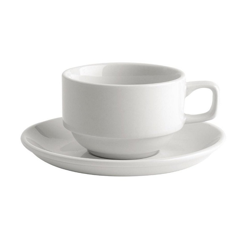 crockery saucer and cup