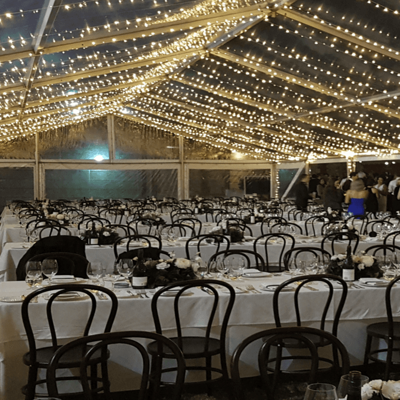 Wedding Hire Adelaide banquet chairs banquet tables