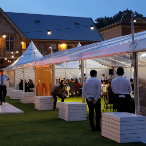 Corporate pavilion