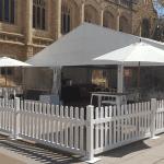 adelaide uni pavilion picket fence